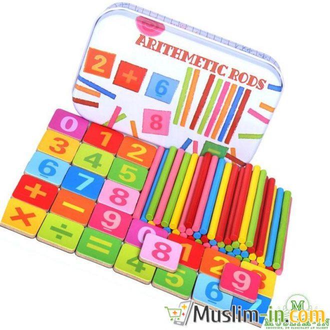 Bâtonnets colorés maths - Montessori
